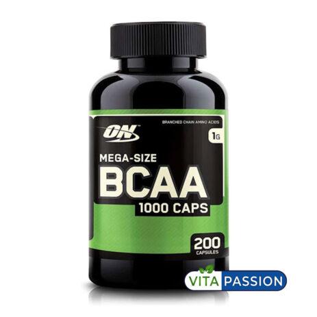 MEGA SIZE BCAA 200 CAPSULES ON