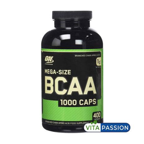 MEGA SIZE BCAA 400 CAPS ON