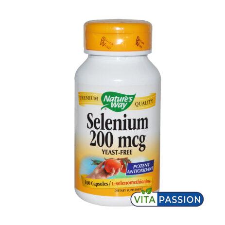 SELENIUM 200MCG NATURES WAY