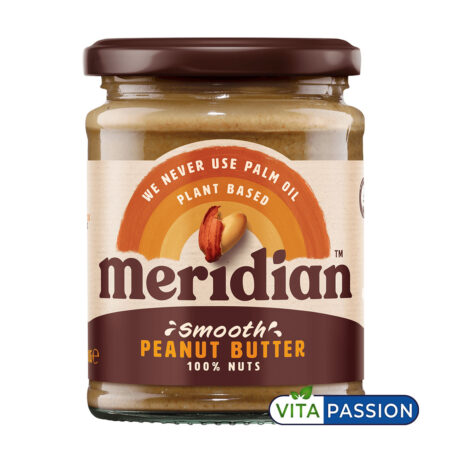 SMOOTH PEANUT BUTTER 280G MERIDIAN