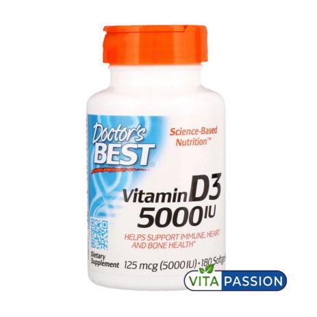 VITAMIN D3 5000IU DOCTORS BEST