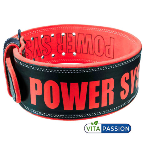 Weight Lifting Leather Belt Power Beast 3830