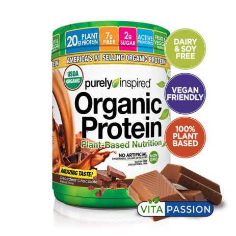 Organic plant based protein purely inspired