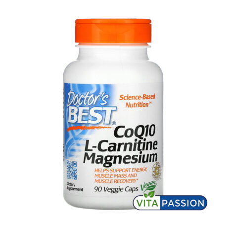 CoQ10 L Carnitine Magnesium DOCTOR BEST