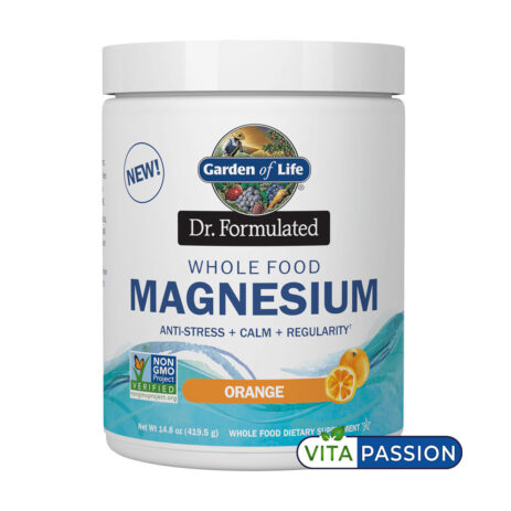 WHOLE FOOD MAGNESIUM GARDEN OF LIFE