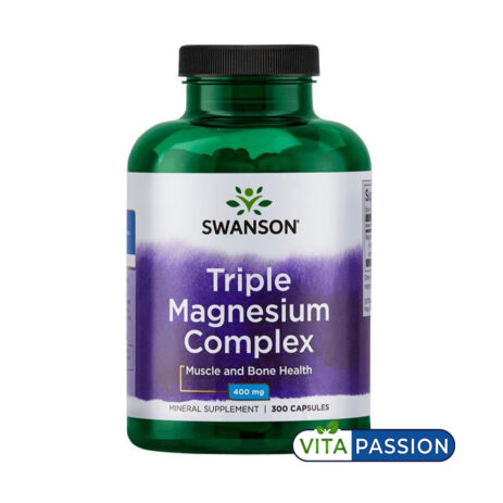 TRIPLE MAGNESIUM COMPLEX 300 CAPS SWANSON