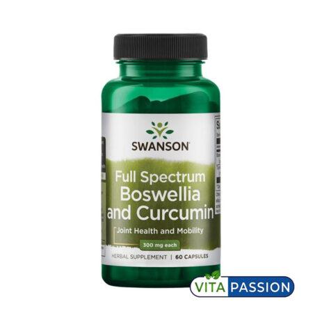 FULL SPECTRUM BOSWELLIA AND CURCUMIN SWANSON