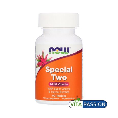 SPECIAL TWO 90 TABS NOW FOODS