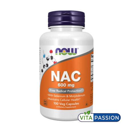 NAC 600MG 100 VEG CAPS NOW