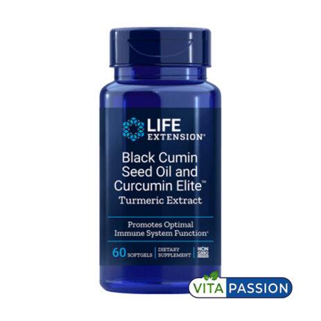 BLACK CUMIN SEED OIL AND CURCUMIN ELITE LIFE EXTENSION