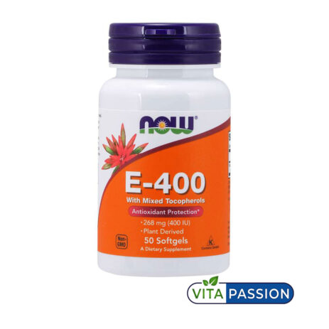 Vitamin E 400 Now Foods 1